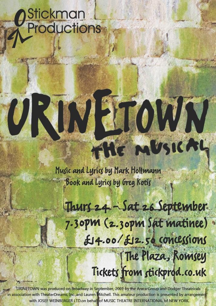 Urinetown A4 final